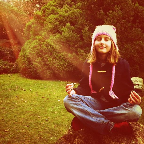 Ommm. #instatassie1 #meditate