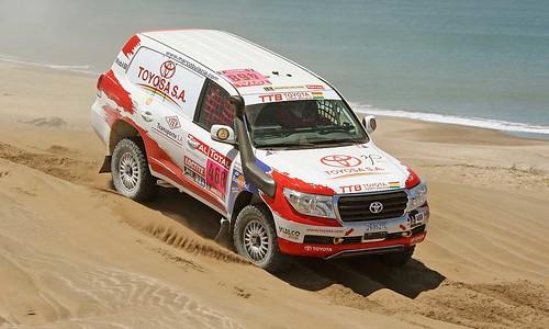 Bulacia-Montaño Dakar 2012