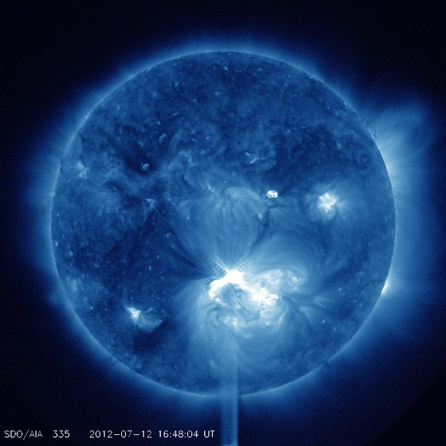 Big Sunspot 1520 Releases X1.4 Class Flare