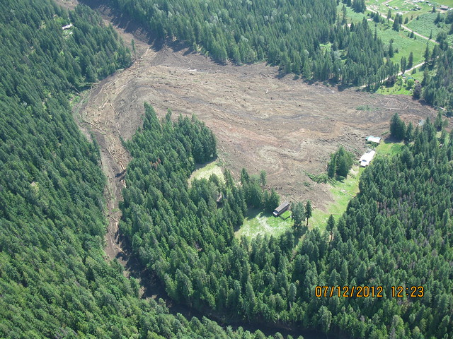 Johnsons Landing Landslide (Near Kaslo)