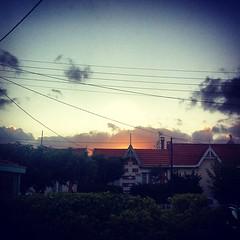 Avec ce coucher de soleil, après une journée de pluie... À new hope
