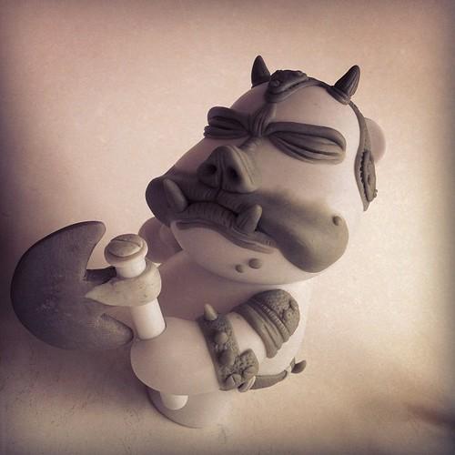 Gamorrean Guard Custom, Sculpting update... by [rich]