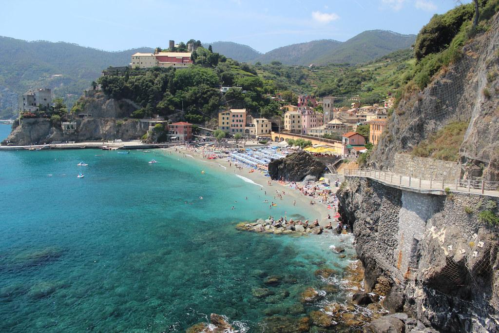 Monterosso al Mare пляж