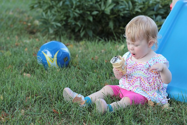 Ice Cream in the Backyard