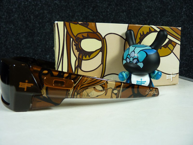 Oakley Gascan Brown w/Warm Grey - David Flores w/Kidrobot Dunny