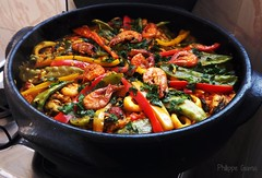 vegetable, paella, food, dish, cuisine, ratatouille,