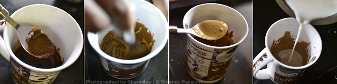 Indian Espresso Coffee | How to make espresso coffee at home - Sharmis ...