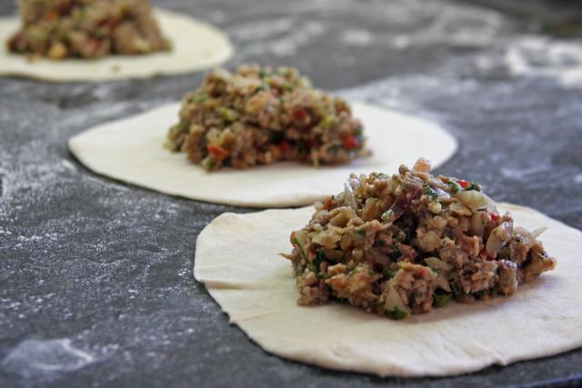 Receta: Empanadas árabes.