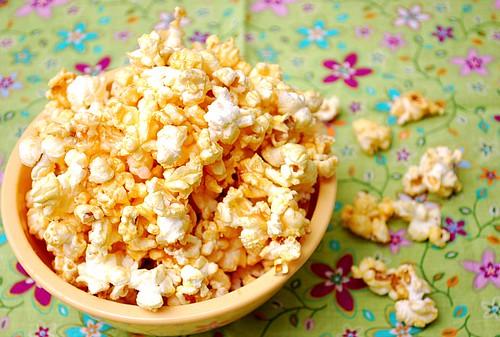 Peanut Butter & Honey Popcorn