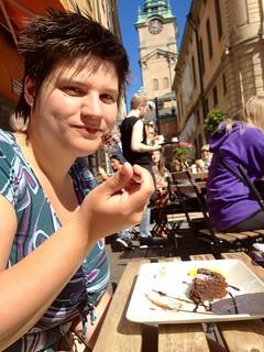 Stockholm (SW) - Chokladkoppen - Storykirkan