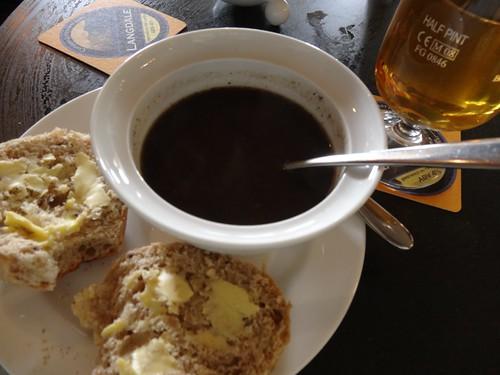 Mushroom Tarragon Soup and Wildwood Cider