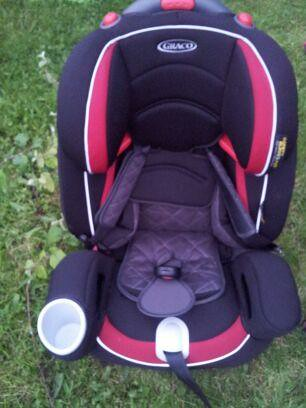 , Graco Nautilus Elite Carseat Review – Who will get to try out the carseat first?
