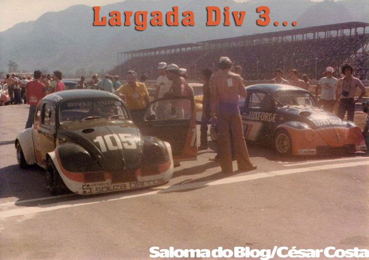 Largada Divisão 3_Autódromo Jacarepaguá #1977 C