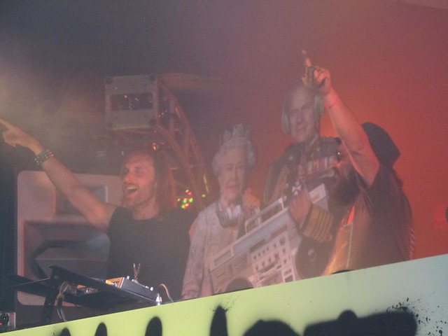 David Guetta, The Queen, Prince Philip & Mr Brainwash!