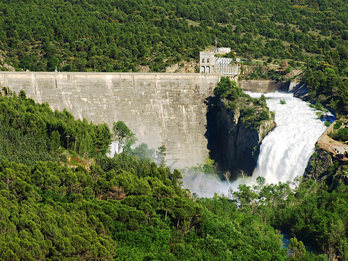 Dam at Montsec, Catalonia