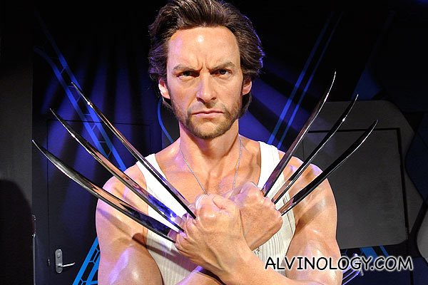 Australian star Hugh Jackman in his breakthrough role as Wolverine