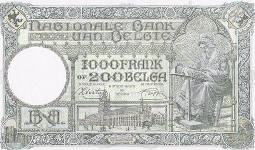 200 Belga Note