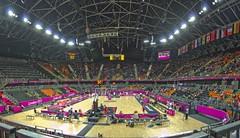 Olympic Park Basketball Arena Panorama London 2012