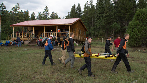 Search and rescue program at Carson Meadows