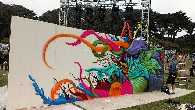Outside Lands 2012 - Art