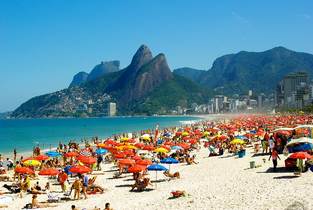 beach on ipanema