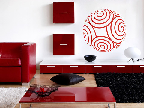 Vinilos decorativos alternativa econ mica para - Decoracion de vinilos para paredes ...