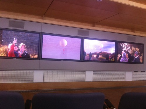 Four screens used surprisingly well