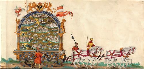 001-Triunfo del Emperador Maximiliano I…1700-Copyright Biblioteca Nacional de España