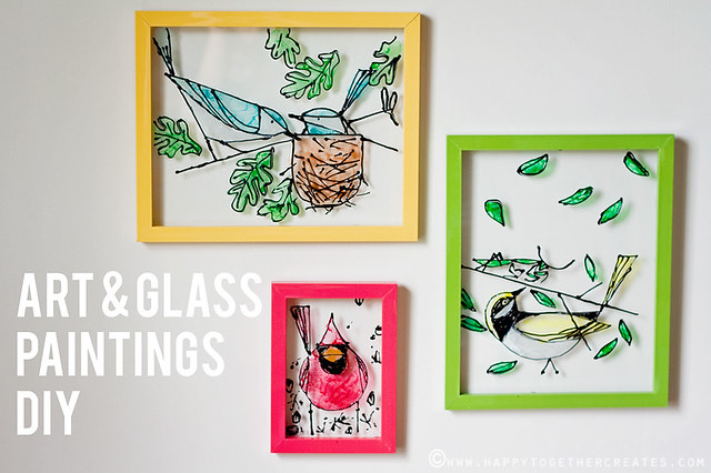 Art & Glass Painting DIY