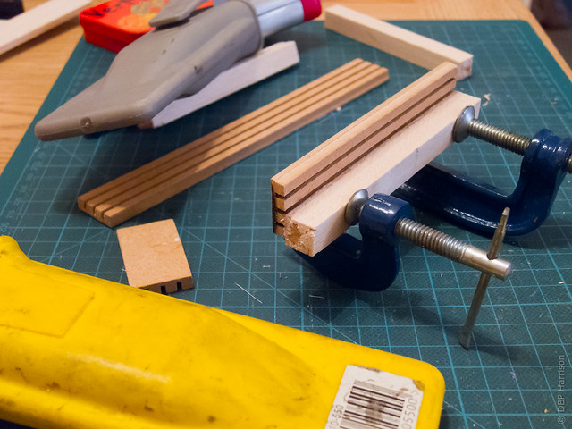 Gluing bits together