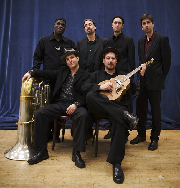 Eclectic blues band Hazmat Modine. Photo courtesy of Hazmat Modine.