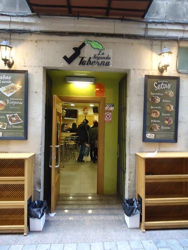 Logroño | La Segunda Taberna | Entrada