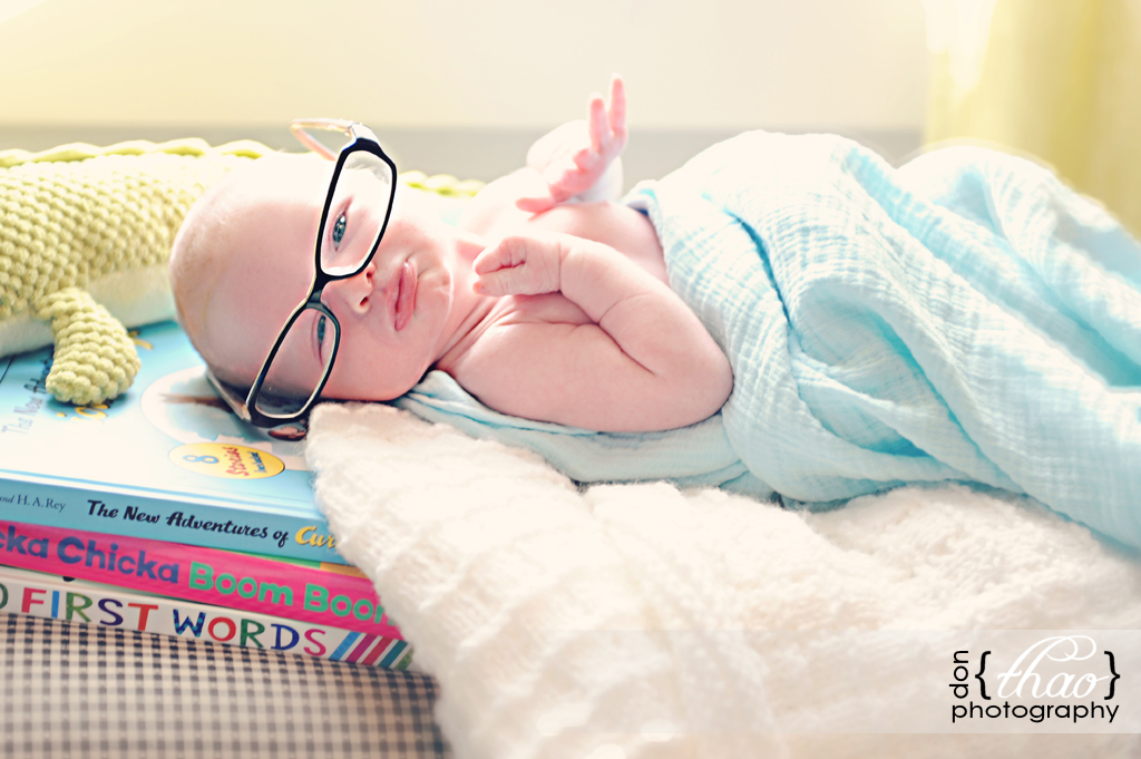 hudsonville, michigan newborn baby boy photo shoot - donthaophotography.com