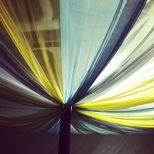 The fabric ceiling-tent-parachute-extravaganza is complete!