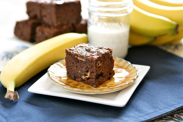 Banana Brownies 001
