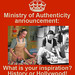 MOA Poster: History or Hollywood by Ministry of Authenticity