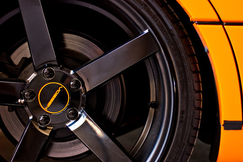 Orange Wrap Lexus VOSSEN | Urban Legends Car Show | 10/2012 - 15