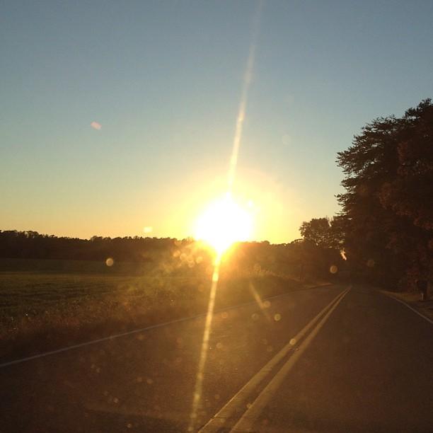 Beautiful sunset today. #skylove