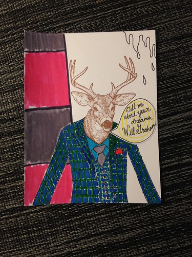 Anthropomorphic Mail Art Project - my submission