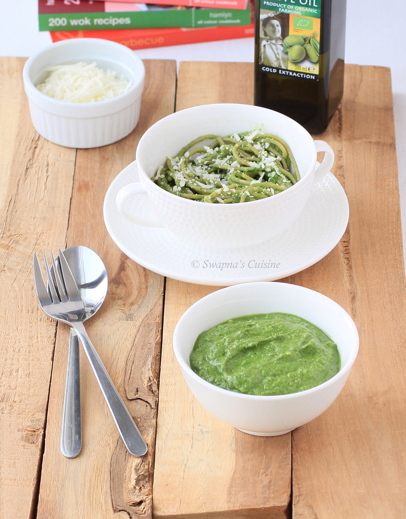 Basil Pesto Sauce Recipe