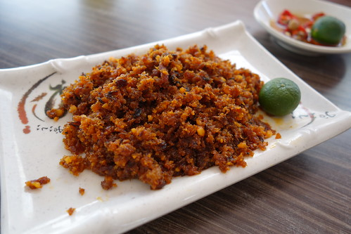 Hae Bee Hiam - Spicy Fried Dried Shrimp. Zai Shun Curry Fish Head, Jurong East