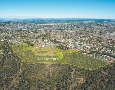 Sactuary Rise housing estate in Toowoomba (Photo credit: The Chronicle)