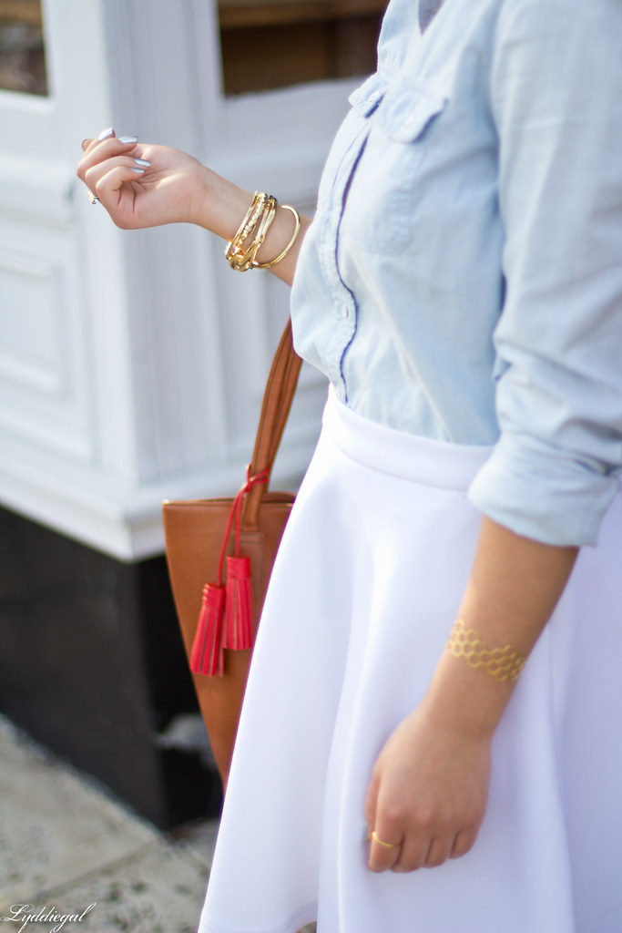 chambray shirt, white skirt-3.jpg