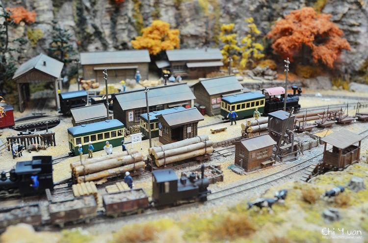 [日本。嵐山]トロッコ嵐山站。嵯峨野限定列車吊飾
