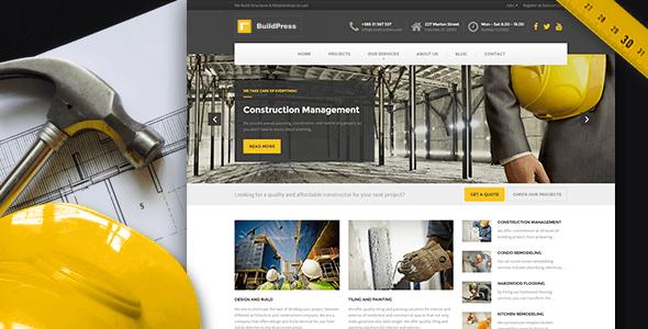 BuildPress v3.4.1 – Construction Business WP Theme