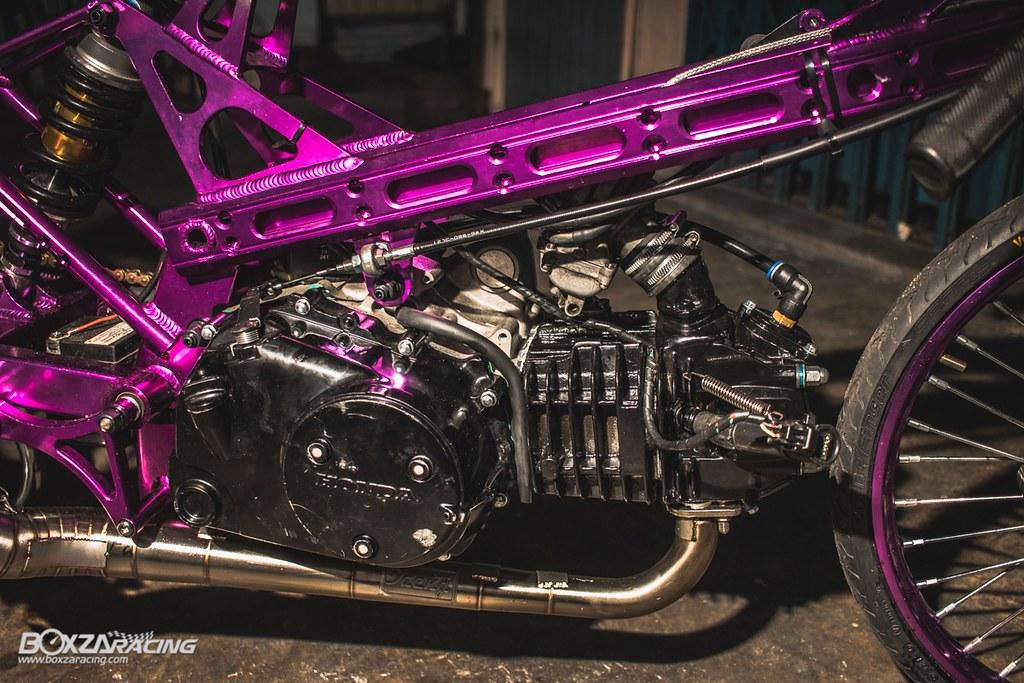 Wave Drag độ màu tím khủng khiếp với Piston 78mm (Thái) - 17
