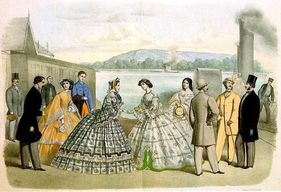1862 Vienna fashions