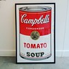 Andy Warhol's iconic soup cans available online and in the gallery #richardgoodallgallery #andywarhol #Sunday morning #campbellssoup