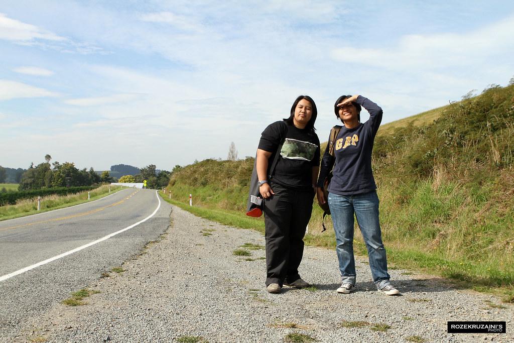 Perjalanan ke Lake Tekapo