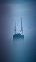 Sears Tower in fog